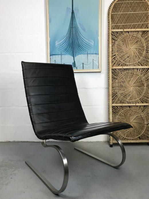 PK20 Poul Kjaerholm Style Rocking Chair