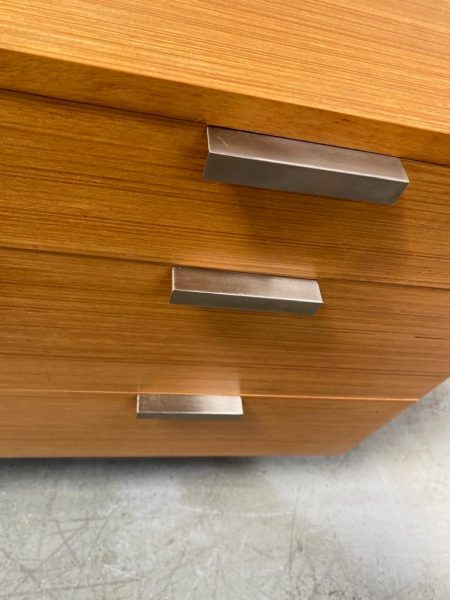 Mid Century 1960s Stag 'Fineline' Chest of Drawers by John & Slyvia Reid