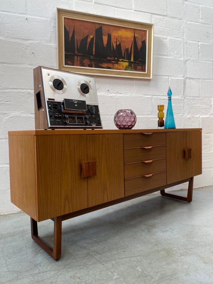 A Mid Century Danish Inspired Sideboard by 'Europa Furniture'