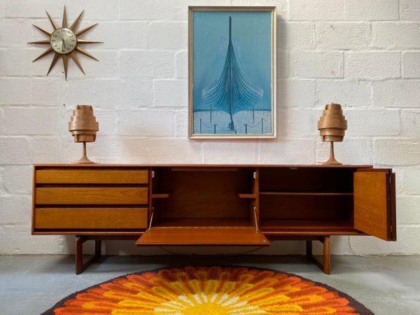 Vintage 1960s WHITE & NEWTON 'Westbourne' Teak Sideboard