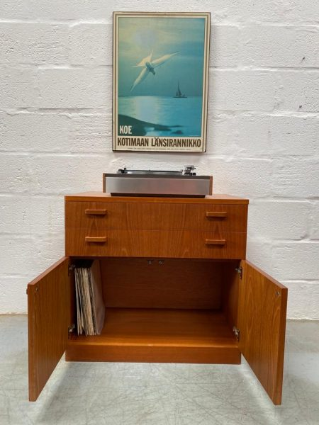 Retro 1980s G Plan Cabinet / Media Unit