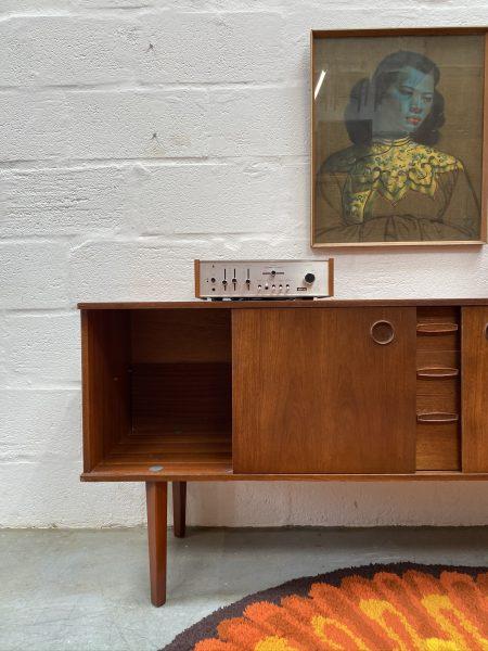 Retro Vintage Mid Century 1960s Teak Sideboard by Avalon