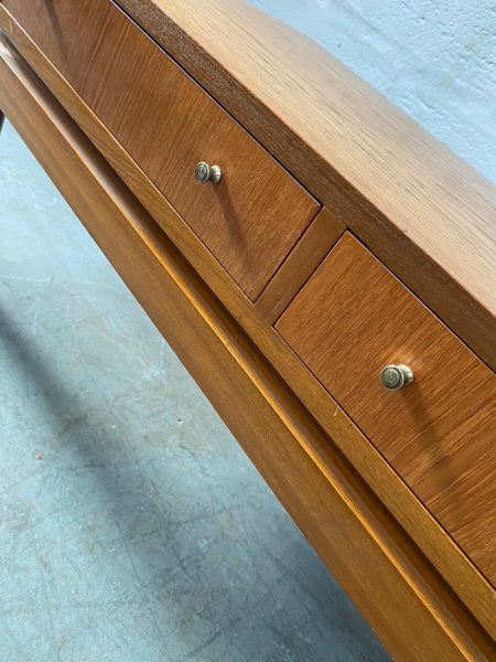 Vintage 1960s Teak Greaves and Thomas Low Coffee / Console Table