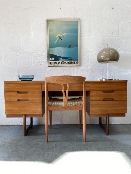Vintage Mid Century Uniflex Dressing Table / Desk