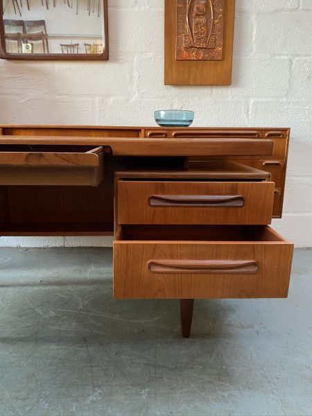 G PLAN FRESCO Floating Top Desk / Dressing Table Vintage