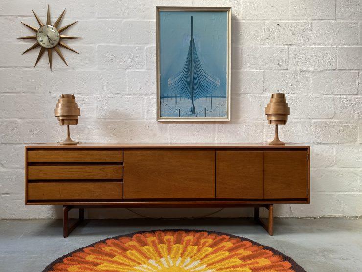 1960s WHITE & NEWTON 'Westbourne' Teak Sideboard