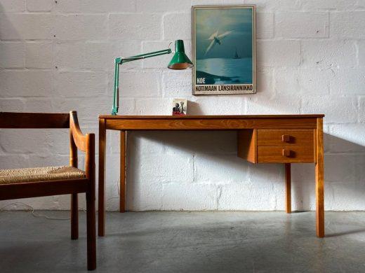 Vintage 1960s / 1970s Classic Danish Domino Møbler Teak Desk