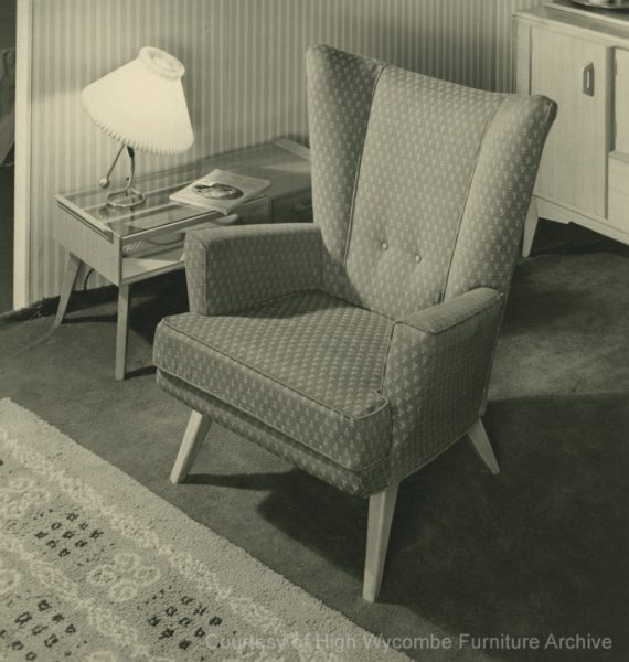 Pair of Mid Century Vintage 1950s G Plan Easy Chairs
