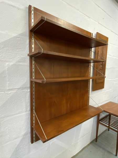 Vintage Stag S-Range S220 Wall Mounted Shelf Unit 1960s