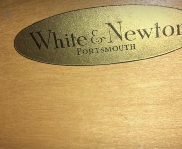 Vintage Mid Century Long Teak Sideboard By White & Newton Ltd Portsmouth
