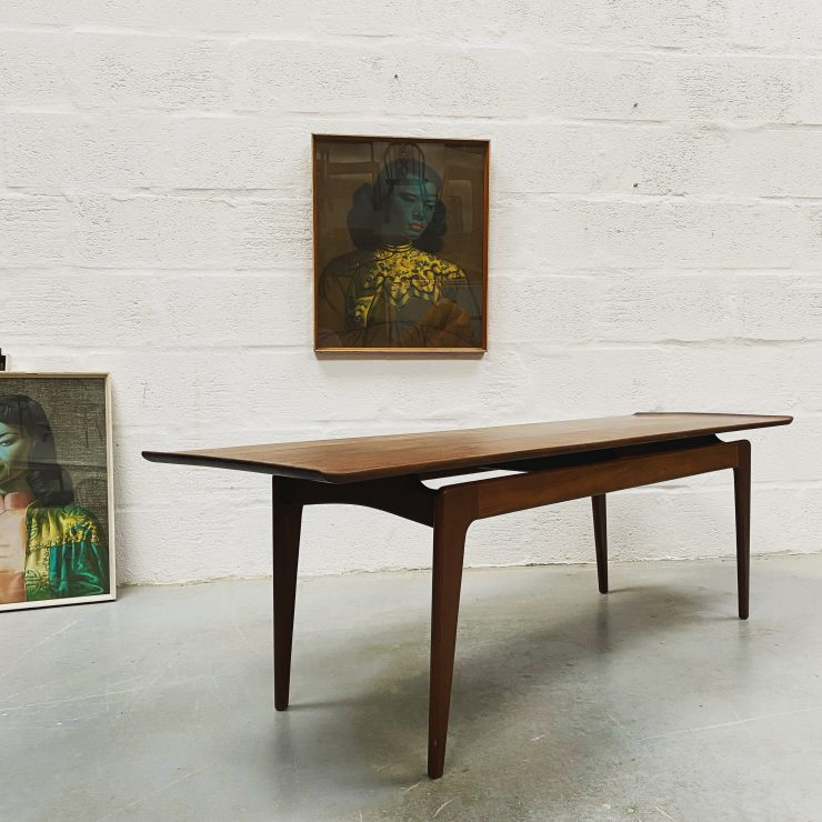 Mid Century Teak Coffee Table by Younger