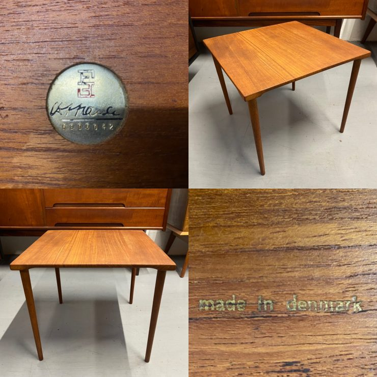Mid Century Danish Teak Occasional / Side Table by France & Son