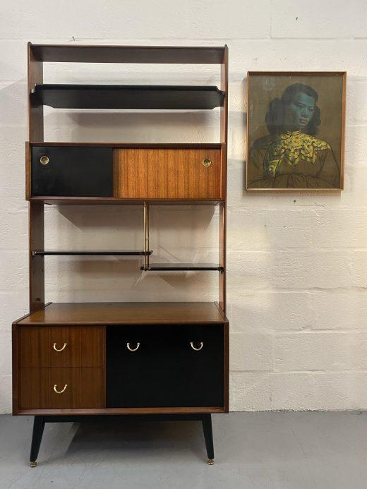 Vintage 1950s G Plan 'Librenza' Room Divider / Wall Unit