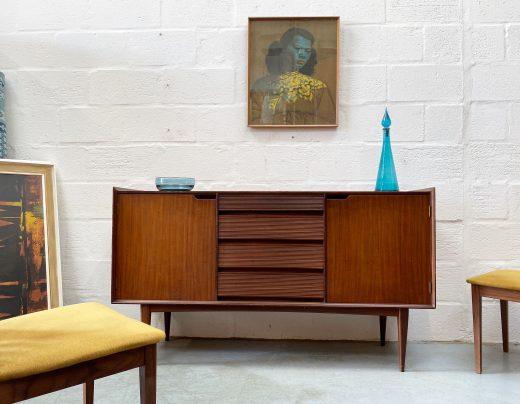 Vintage 1960s Richard Hornby for Fyne Ladye Small Sideboard