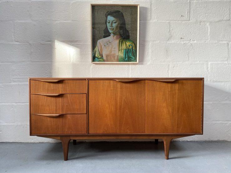Mid Century Vintage 'Moy' Teak Sideboard by McIntosh
