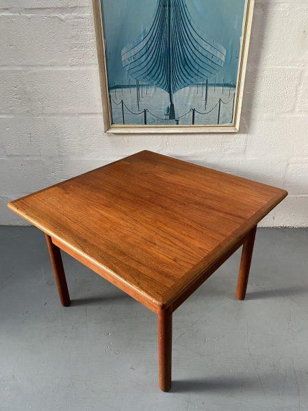 Vintage Danish Two Tier Teak Coffee Table by Trioh Mobler