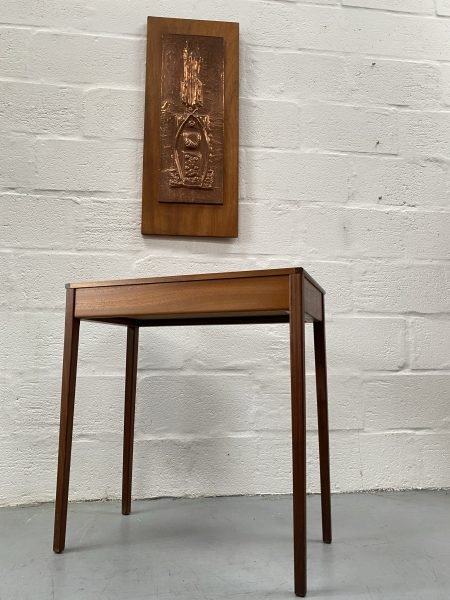 Vintage Mid Century Younger Teak Console Table / Hall Table