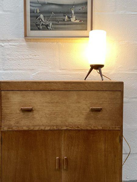 Vintage Art Deco 1930s Oak Hypnos Beds Cabinet