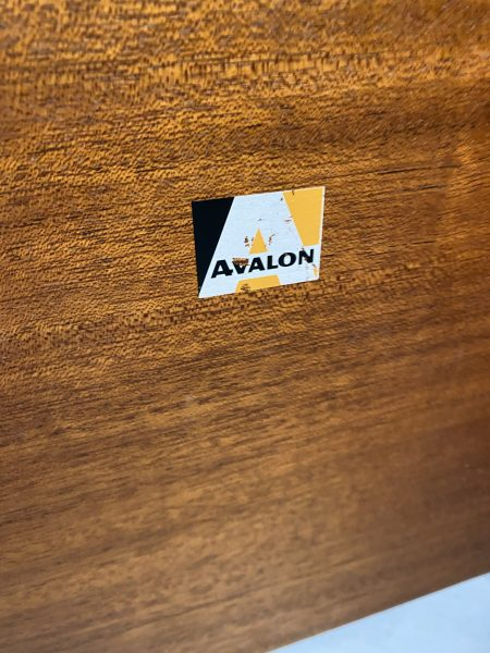 Single Vintage 1960s AVALON Bedside Cabinet / Cupboard