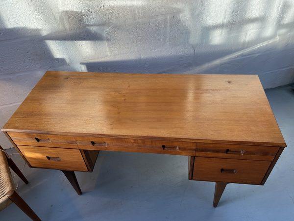 Vintage Early 1960's Teak Desk by Butilux