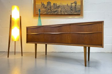 Vintage Mid Century Austinsuite Chest of Drawers / Sideboard