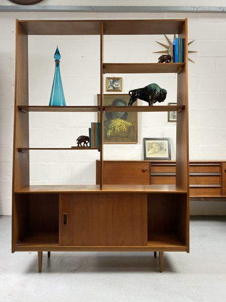 Vintage Teak Room Divider Mid Century