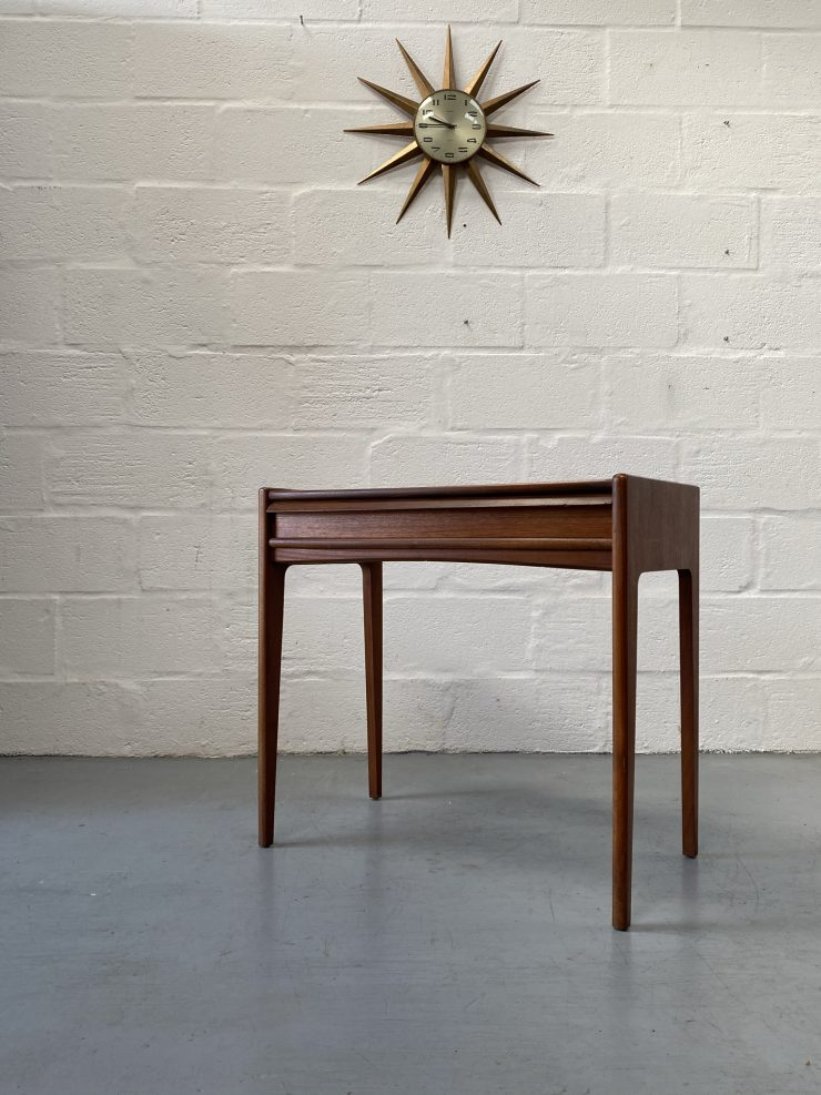 Mid Century Teak Vintage Console Table by John Herbert for Younger