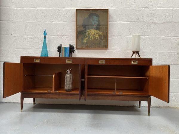 1960s Mid Century Greaves & Thomas Mahogany Sideboard