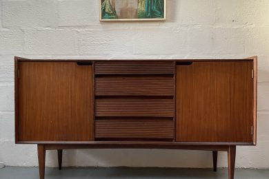 Mid Century 1960s Richard Hornby for Fyne Ladye Small Sideboard