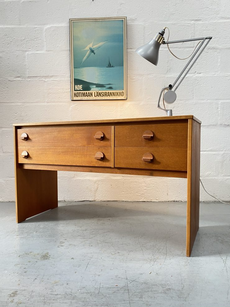 Mid Century Chest of Drawers / Dressing Chest by Ron Carter for Stag 1960s