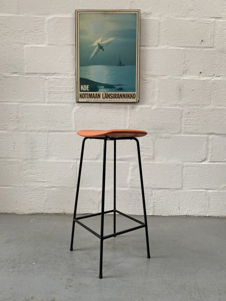 A Single Mid Century Vintage 'Program' Stool by Frank Guille for Kandya
