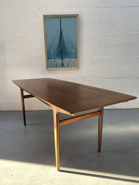 Vintage Solid Teak Dining Table by John Herbert for Younger 'Fonseca' Range
