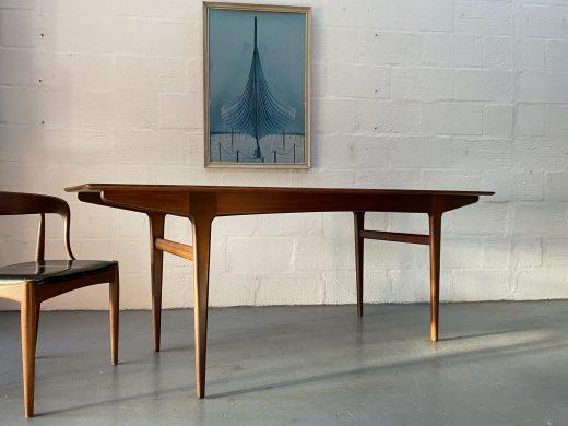 Vintage Solid Teak Dining Table by John Herbert for Younger 'Fonseca' Range
