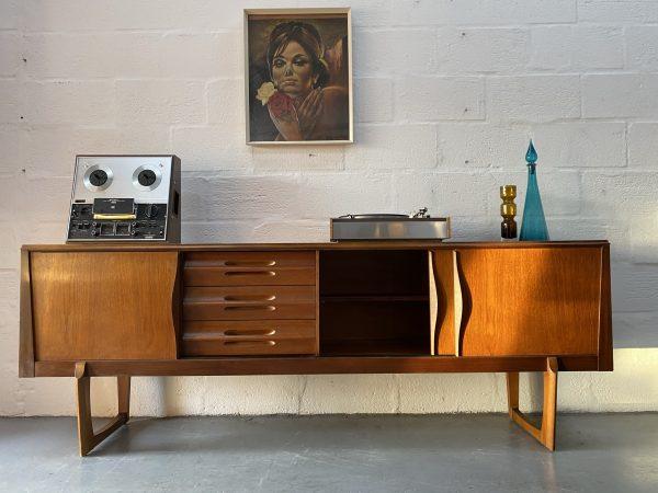 Mid Century 1960s Sideboard by EON (Elliots of Newbury)