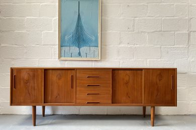 "Swedish Mid Century ""Gigant"" Sideboard by Nils Jonsson for Hugo Troeds"