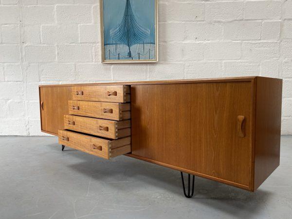 Danish Mid Century Vintage Clausen & Søn Sideboard for Silkeborg