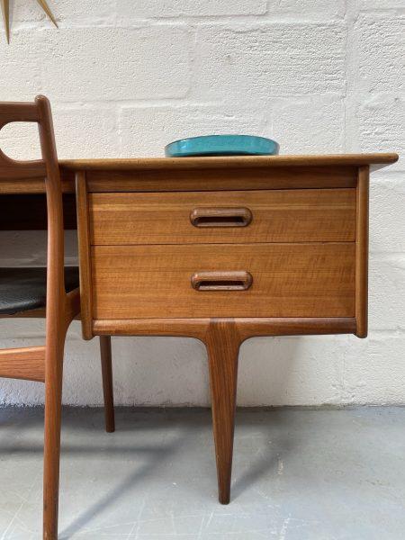 A Younger 'Codan' Range Teak Dressing Table / Desk by John Herbert