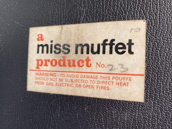 Vintage Miss Muffet Retro Pouffe / Foot Stool
