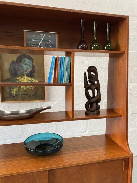 Vintage Mid Century Teak Room Divider / Wall Unit