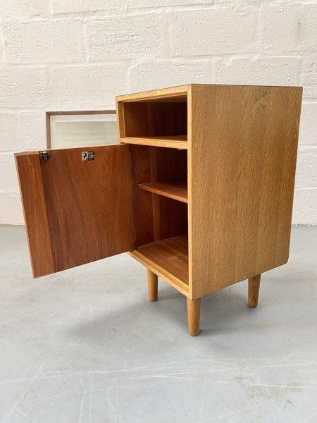 Vintage 1950s Stag 'C' Range Bedside Cabinet