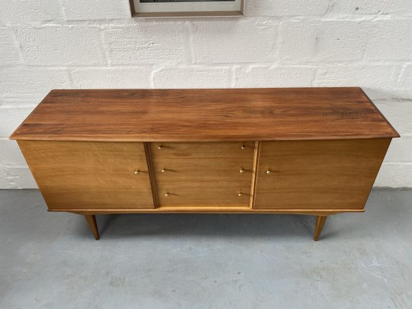 1950s Mid Century Walnut Sideboard by Alfred Cox